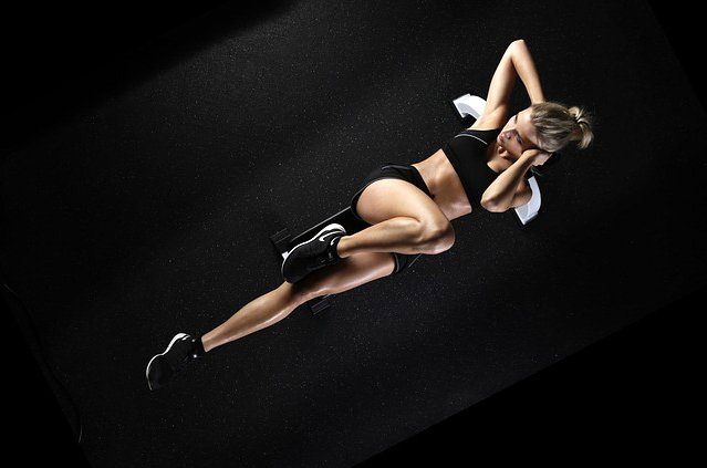 Allenamento gambe, glutei e addominali